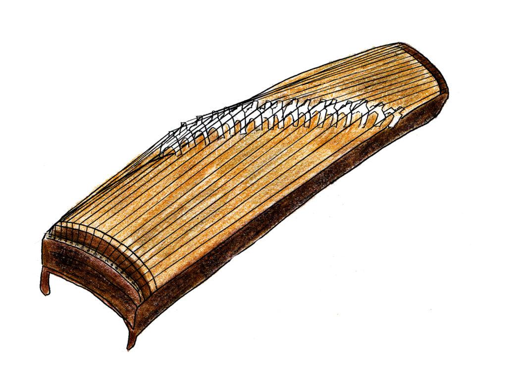 箏(琴)で揃える用具を確認する