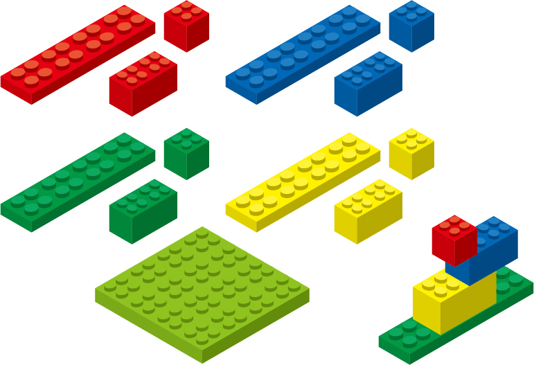 Nolaの機能のプロットのポイントはブロック単位で入れ替えが可能な事